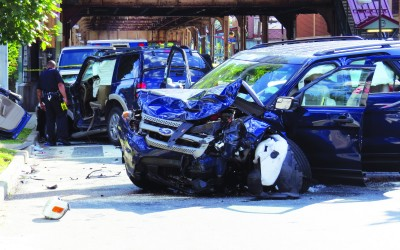 Woodhaven Wife Crushes Husband in Crash