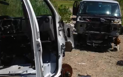 Biz Owner's Van Stolen, Ends Up In Illegal Chop Shop