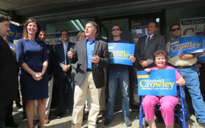 Focusing on Public Safety, Crowley Launches Re-Election Campaign