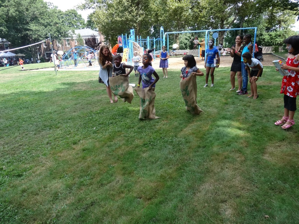 Children from throughout the borough celebrated the beginning of the school year with a variety of games and other activities at Forestdale last week. Photo Courtesy Forestdale