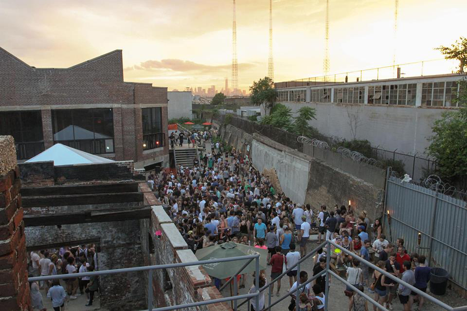 """The Knockdown Center in Maspeth has transformed a former glass factory into an arts and music venue, which some residents have praised as """"inventive"""" but which others said is operating illegally. Facebook"""