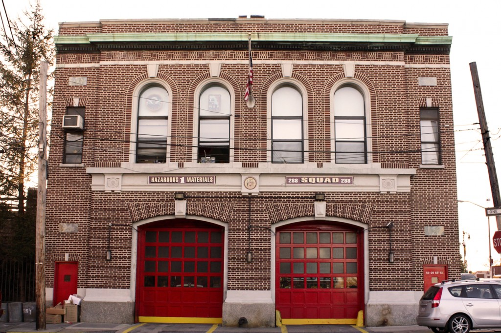 Residents are urging city to landmark the Maspeth firehouse, which will celebrate its centennial in 2014. Photos Courtesy Steve Fisher