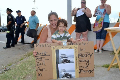 Rallying to Keep the Ferry Afloat