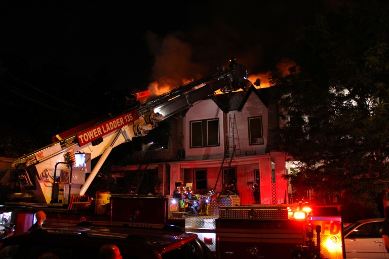 Five Alarm Middle Village Fire Claims Six Homes
