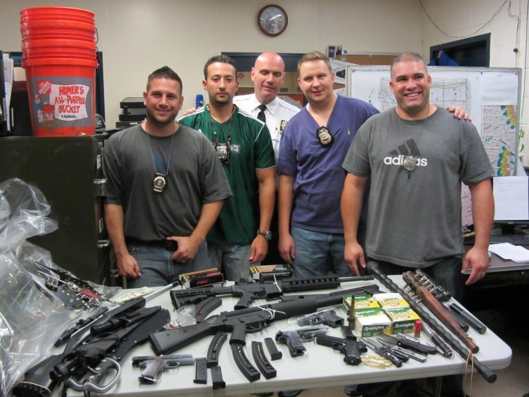 Cops Seize 8 Guns With Richmond Hill Search Warrant – Recover other weapons, cash and pot