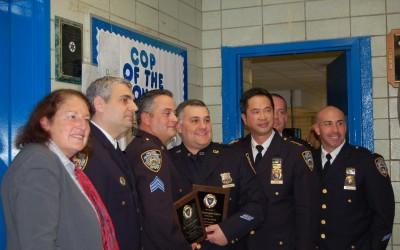 112 Cops of the Month Nab Burglar