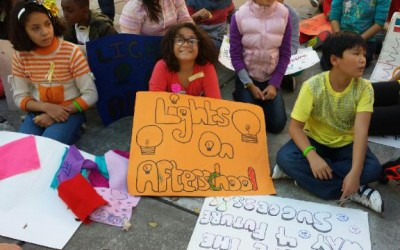 Joining Rallies Across country, Forest Hills Event Shines Light On After-School Programs