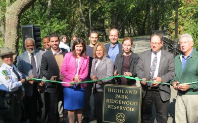 At Ridgewood Reservoir, A Celebration of Nature – Civic Leaders, City Officials Cut Ribbon on $6.92M Project