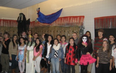 With A Little Fright – And A Lot Of Fun – Maspeth HS Raises Funds For Children's Hospital