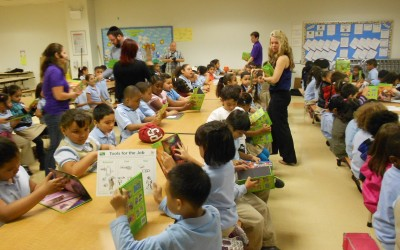 A Push for Literacy Lands Woodhaven Students Free Books