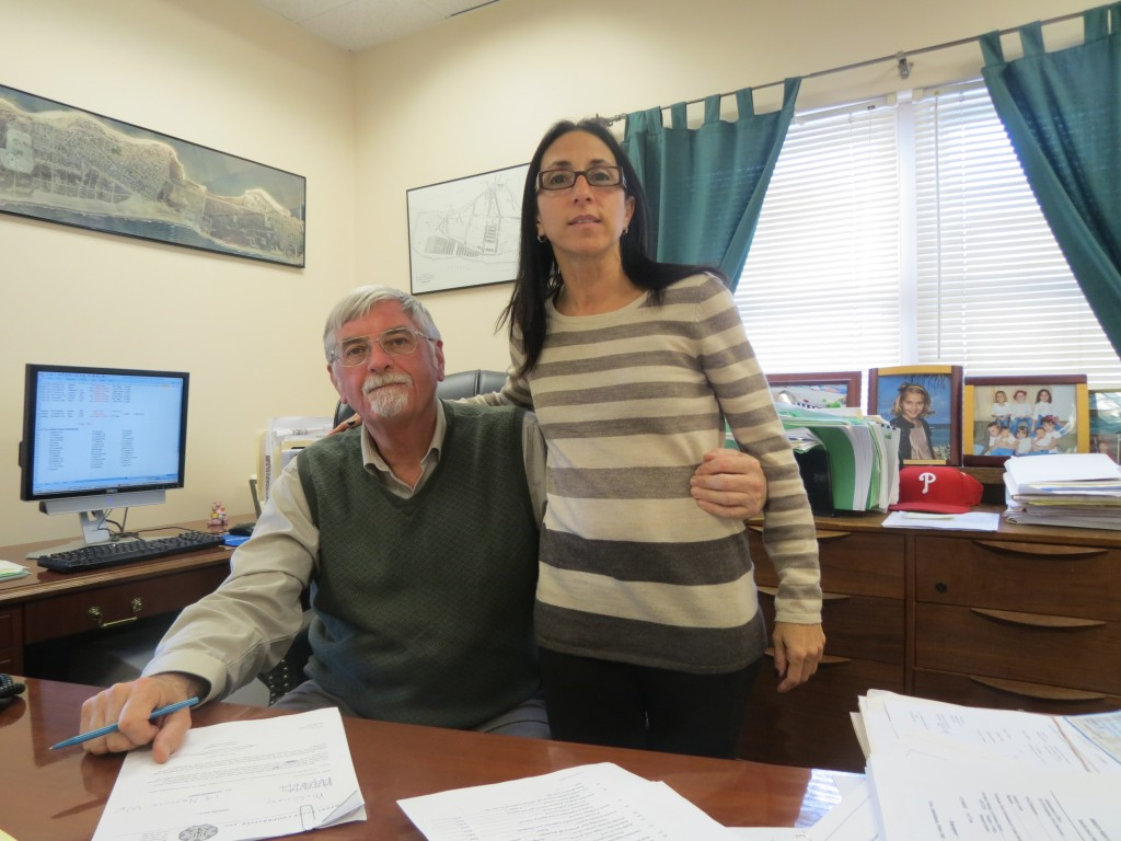 Breezy Point Cooperative General Manager Arthur Lighthall and Assistant General Manager Denise Neibel have been working around the clock to get people back into their homes. Anna Gustafson/The Forum Newsgroup