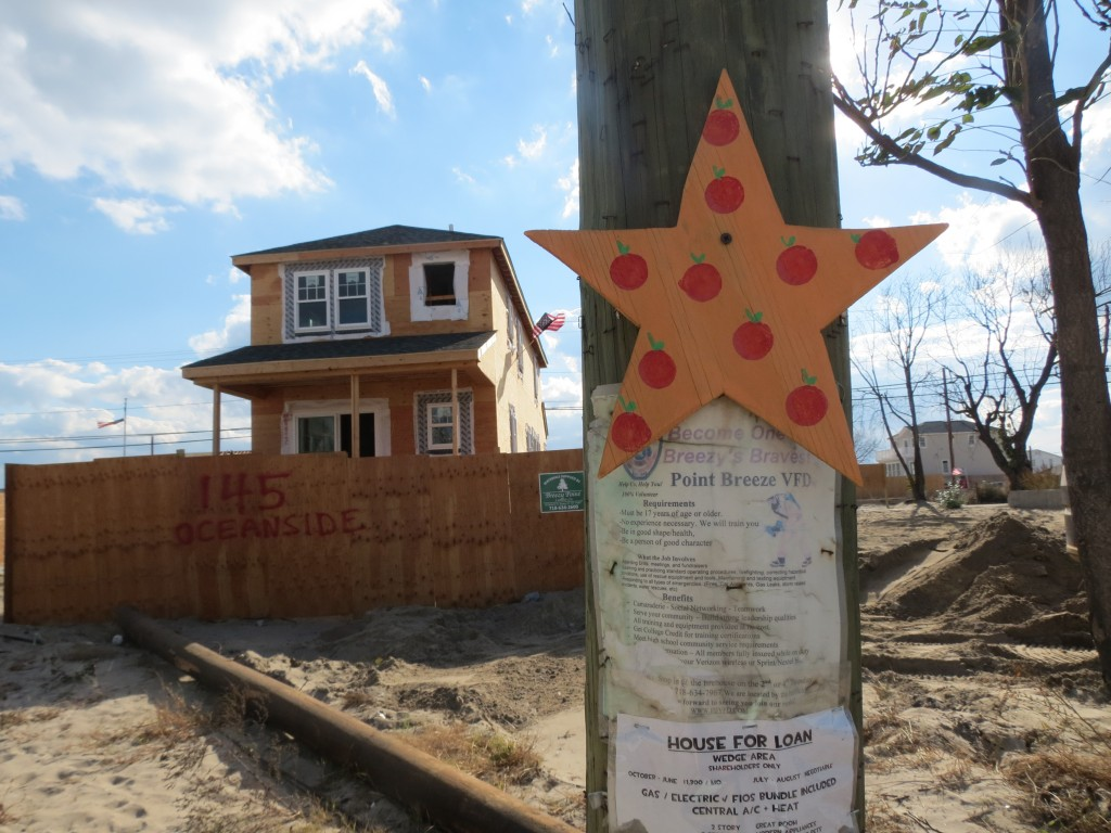 Residents said the constant buzz of construction in the neighborhood is making them feel hopeful that life could begin to return to normal. Anna Gustafson/The Forum Newsgroup
