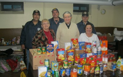 104th Precinct's G-COP Collecting Food for Those in Need