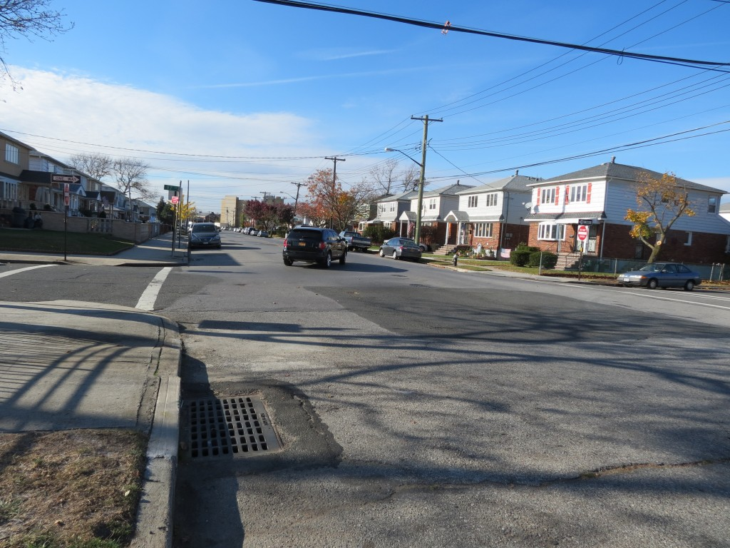Following a spike in speeding drivers and accidents, residents living near the intersection of 156th Avenue and 97th Street in Howard Beach are urging the city to place a four-way stop sign in the area.