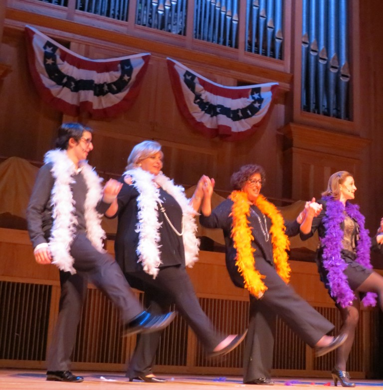 In Afro Wigs and Boas, Boro Pols Take to the Stage