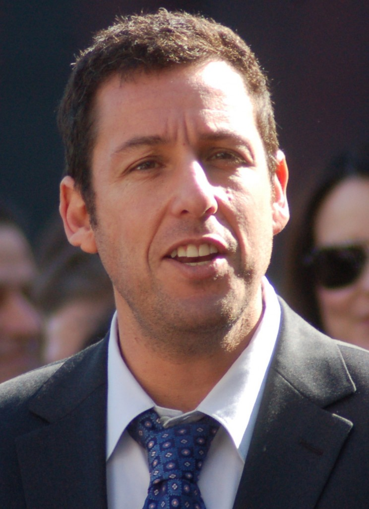 Adam Sandler is expected to film his latest indie movie in Glendale in mid-December. Photo Courtesy Wikipedia