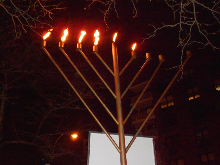 Chabad of Rego Park Celebrates Hanukkah with Grand Menorah Lighting