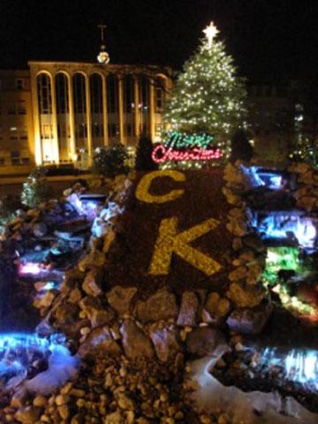 Christ the King Kicks Off Christmas Season with Tree Lighting Ceremony
