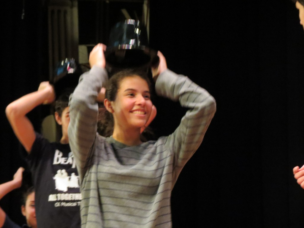 Christ the King High School students in the performance said they have bonded with their classmates while spending hours together rehearsing for the production.