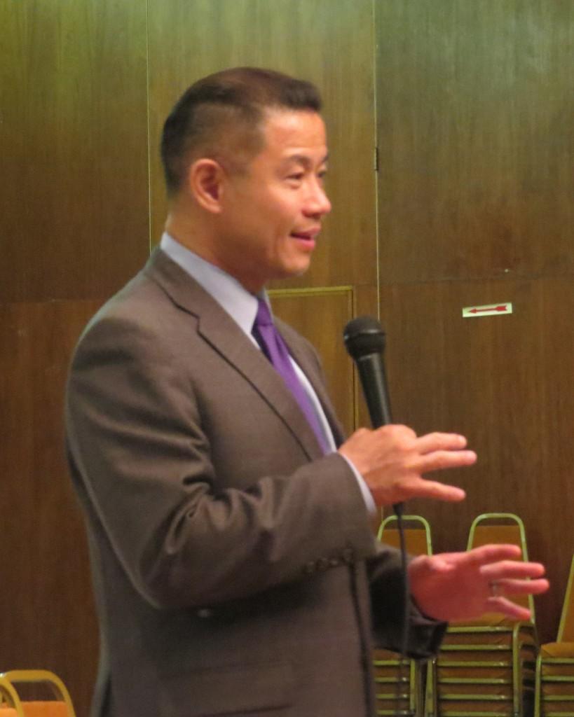 City Comptroller John Liu