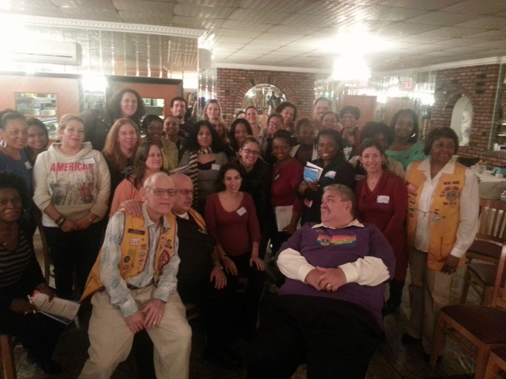 About 40 public school teachers gathered at La Bella Vita in Ozone Park last week to undergo training sponsored by The Lions Club International. Photo Courtesy The Lions Quest