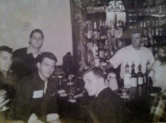 O'Neill's current owner, George O'Neill Jr., seen here bartending in the 1950s, oversaw the expansion of the establishment from a bar to one of the borough's most beloved gathering places.