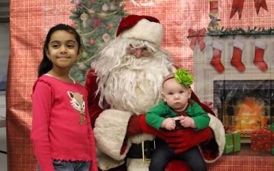 In Ozone Park, Santa Hears Many A Wish List