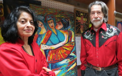 At Glendale Art Gallery, Explorations of Family and Place – Christmas show exhibits work by Archana Santra
