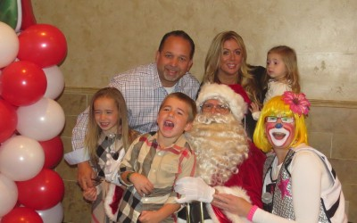Breakfast with Santa – International Society of Cosma and Damiano hosts annual event