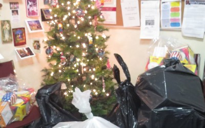 Ulrich Holds Christmas Toy Drive