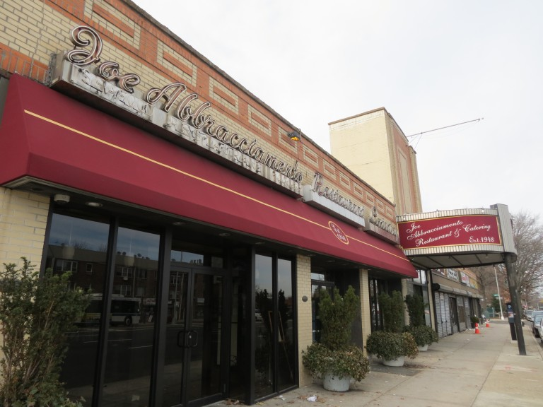 A Final Farewell:  After 65 years of being a community mainstay, Joe Abbracciamento Restaurant to close its doors