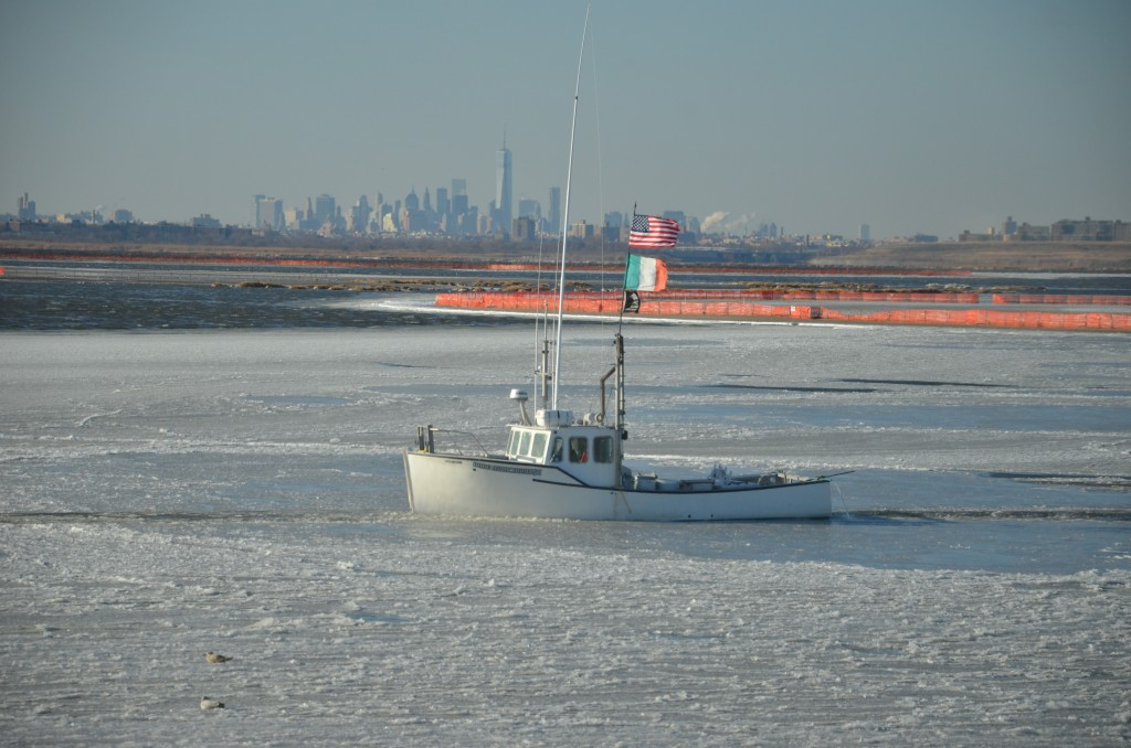 Jamaica Bay frozen 1