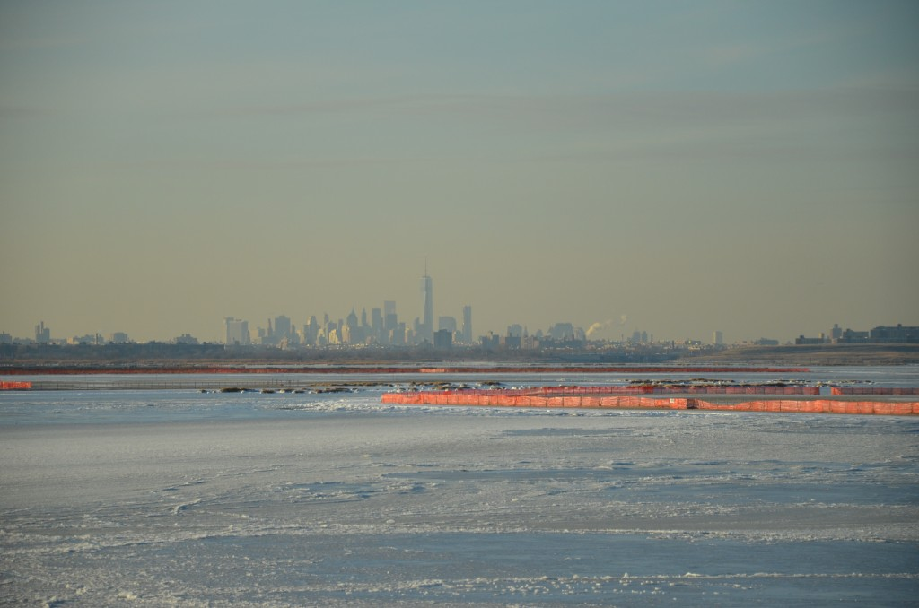 Jamaica Bay frozen 2