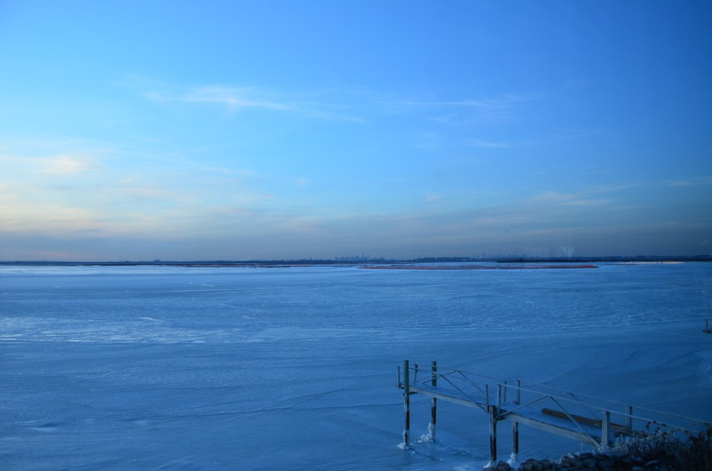 Jamaica Bay frozen 8