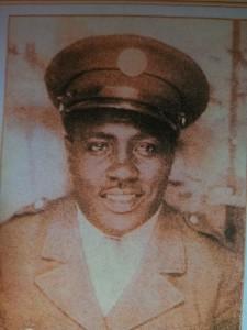 Robert Ruffin, Sr., served in the U.S. Army during World War II.   Courtesy photo
