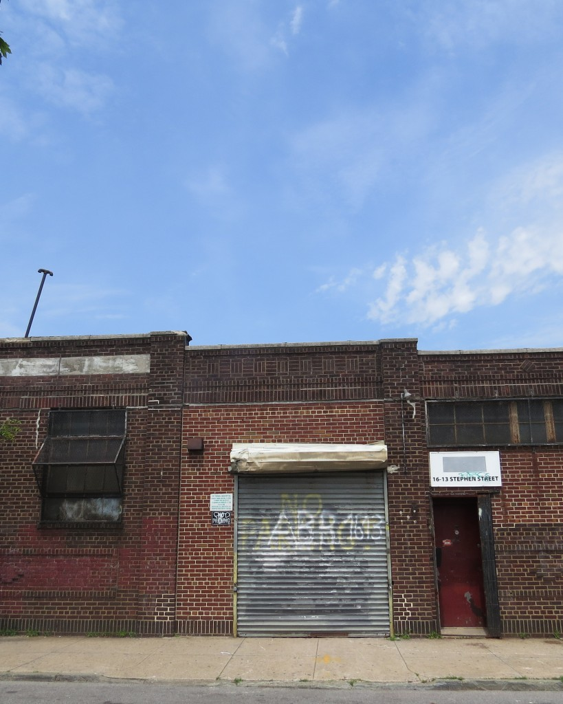 Ridgewood civic and business leaders had wanted to create an industrial business zone in the area known as SOMA - South of Myrtle Avenue - including the pictured Stephen Street - to generate the growth of small business in the area, but Mayor Bill de Blasio's first budget proposal called for axing funding for the IBZ program. File photo
