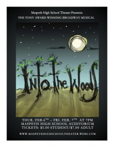 """""""Into the Woods"""" features a variety of characters from classic fairy tales."""