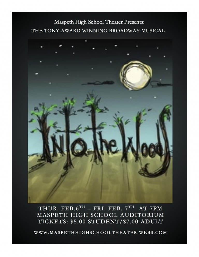 Maspeth High School's Theater Department Presents First Musical: 'Into the Woods'
