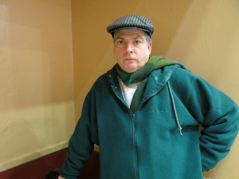 Shuffling from a church parking lot to subways and buses, a Maspeth man learns what it is to be homeless