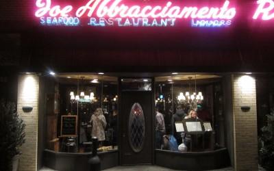 Joe Abbracciamento Restaurant bids Rego Park farewell