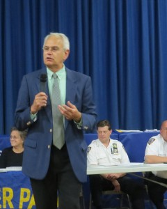 Juniper Park Civic Association Bob Holden said he and his organization are urging to the city to better respond to negligent property owners. File photo