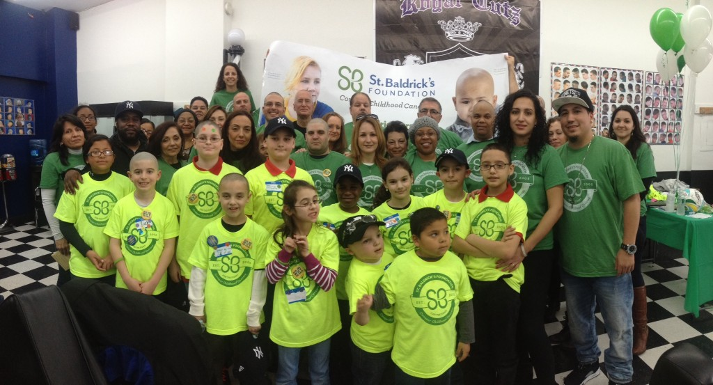 Students from PS 232 and residents from throughout the area raised thousands of dollars for cancer research last weekend at Royal Cutz Barbershop in Richmond Hill. The event was held in honor of Sebastian Oseff, a PS 232 student who passed away last year.