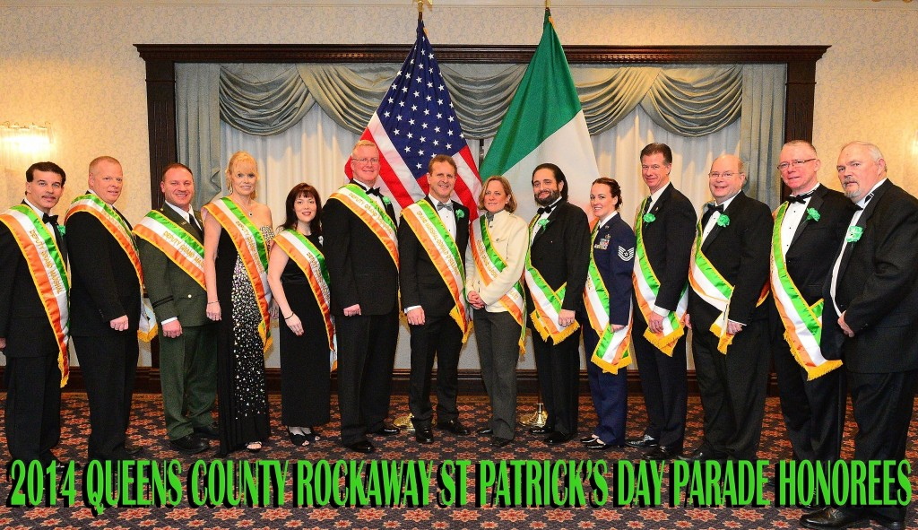 St. Patrick's Day honorees