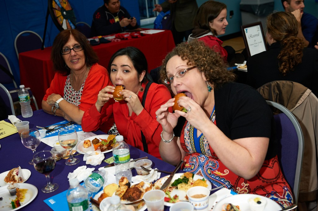 Attendees enjoy some of the borough's best eats at last year's inaugural Taste of Ridgewood event. Photo courtesy LaKeisha Harris
