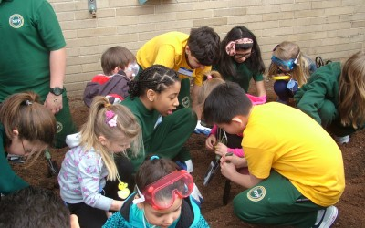 Christ the King Campus Celebrates Earth Day