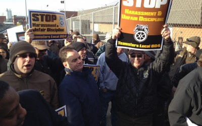 UPS fires 20 Maspeth workers for February walkout