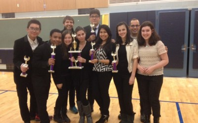 Success for Forest Hills School's First Speech Squad
