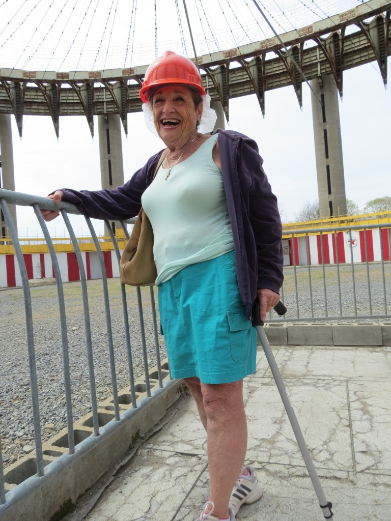 Elaine Goldstein, a Howard Beach resident, visited both the 1939 and 1964 World's Fairs, both of which were held in Flushing Meadows Corona Park. She was 9 years old when she first glimpsed the World's Fair in 1939. Photo by Anna Gustafson