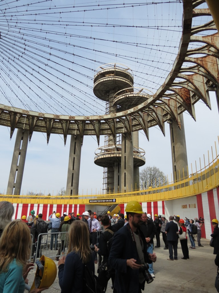 More than 2,500 people came for the pavilion opening, when the structure opened to the public for the first time in decades. Photo by Anna Gustafson