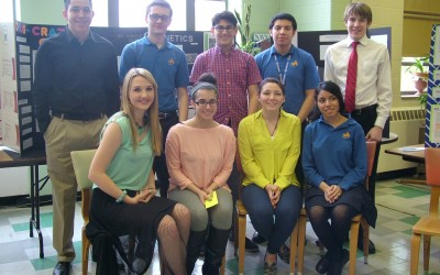 CTK Students Present Year-Long Science Research